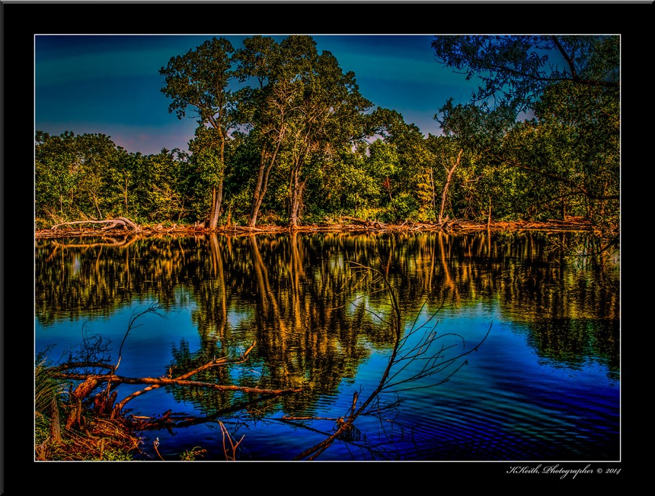 OKLAHOMA FARM POND © KKEITH / ALL RIGHTS RESERVED