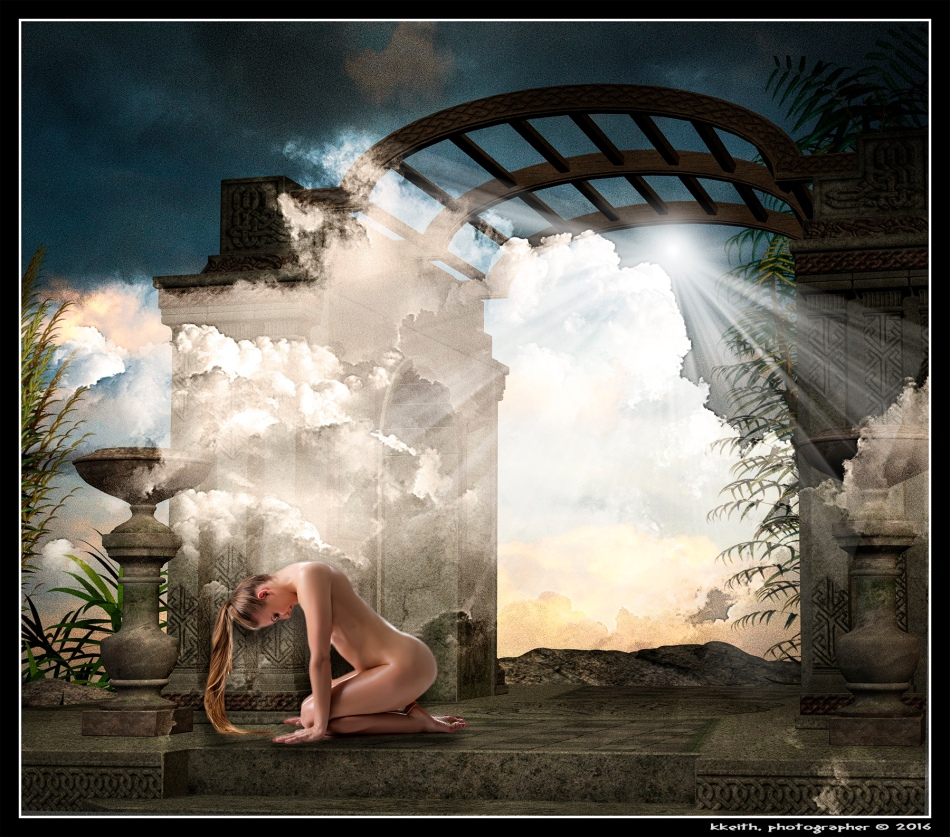 ©2016 KKeith Background: Gate-by-indigodeep@deviantart.com Figure: Fotolia 95975948_S